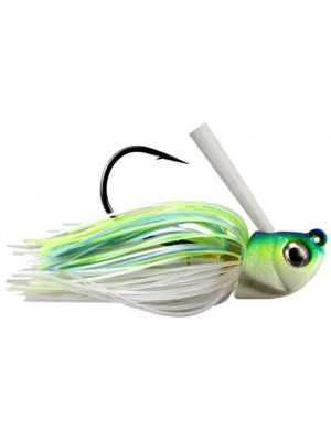 3 3//8 /& 3 1//2 w//Weedguard and Trailer Bladed Swim Jig  Asst color  6 Total